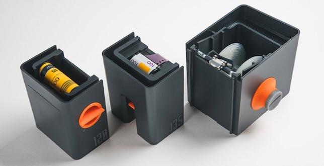 sviluppare pellicola con lab-box