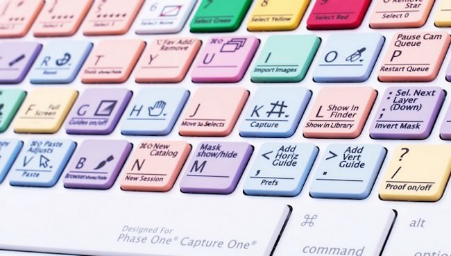 tastiera logickeyboard capture one pro per Mac