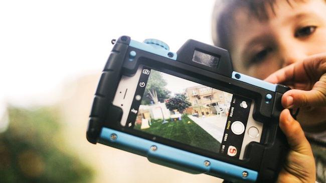 trasformare uno smartphone in fotocamera per bambini