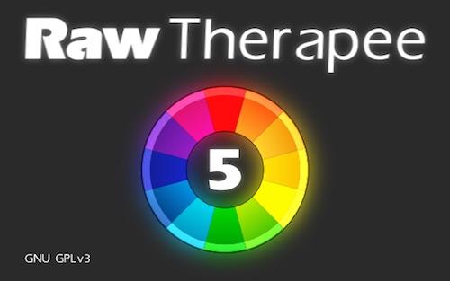 versione rawtherapee programma fotografia raw