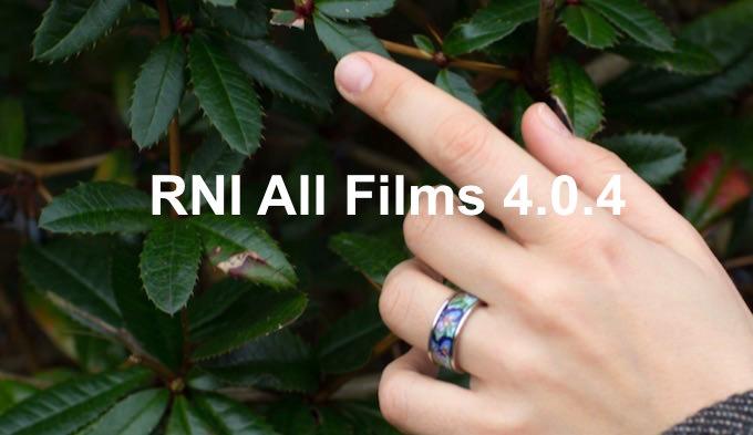 RNI All Films 4.0.4 per Lightroom e ACR