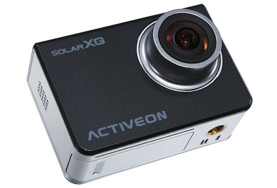 action camera activeo solar xg