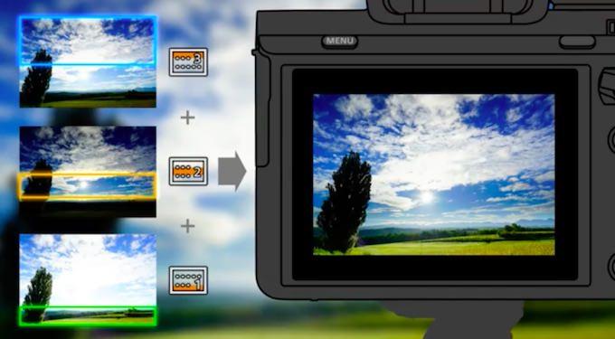 app filtro digitale Sony digital filter