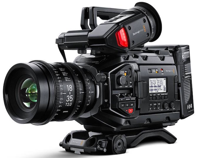 blackmagic ursa mini pro videocamera professionale