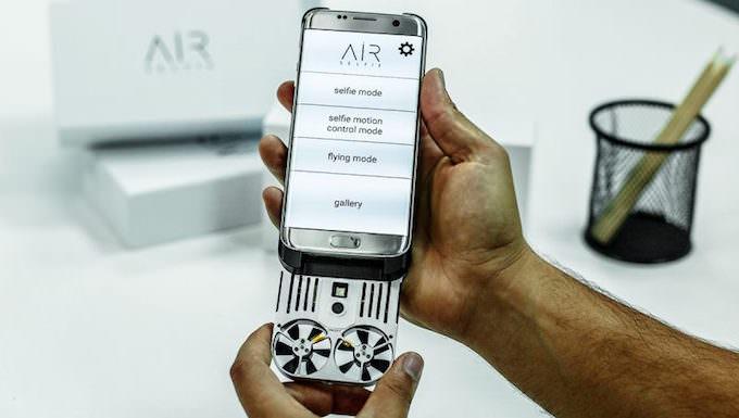 caratteristiche drone airselfie per smartphone