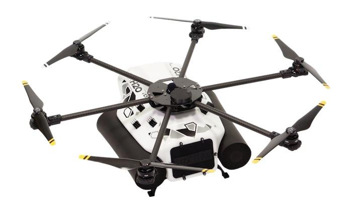 caratteristiche hexh20 pro v2 drone