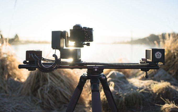 cinetics lynx slider per time lapse motorizzato