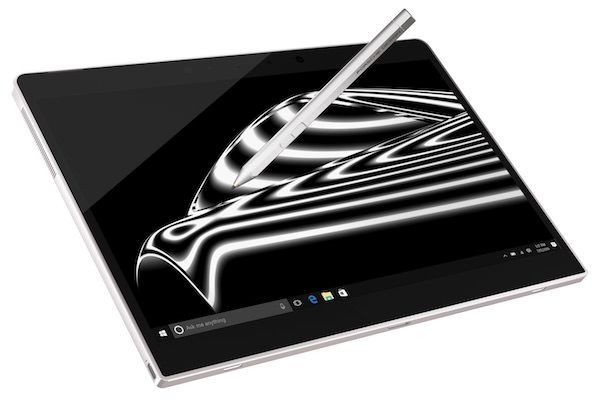 funzione schermo porsche design book one wacom stylus