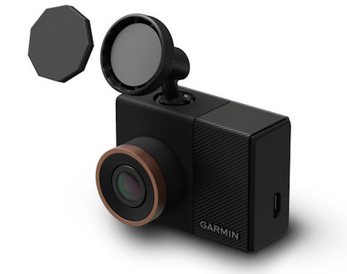 garmin dash cam 45 55 ventosa parabrezza automobile