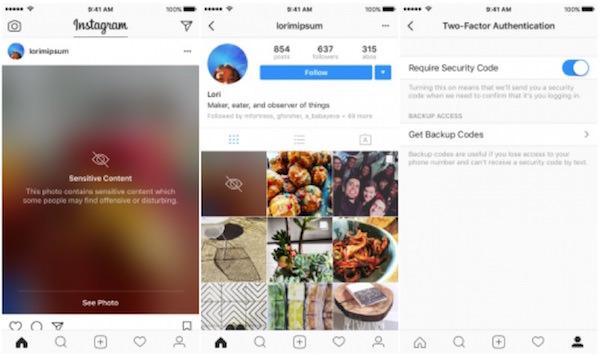 instagram blocca contenuto sensibile