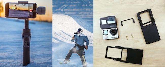 stabilizzatore zhiyun smooth q smartphone action cam