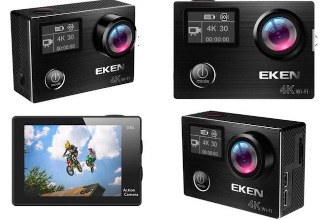 caratteristiche eken v8s action cam