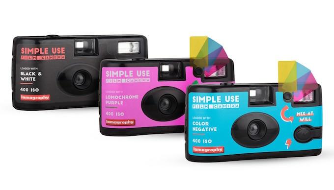 caratteristiche simple use film camera lomography usa e getta