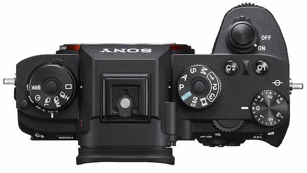 comandi e ghiere fotocamera Sony A9