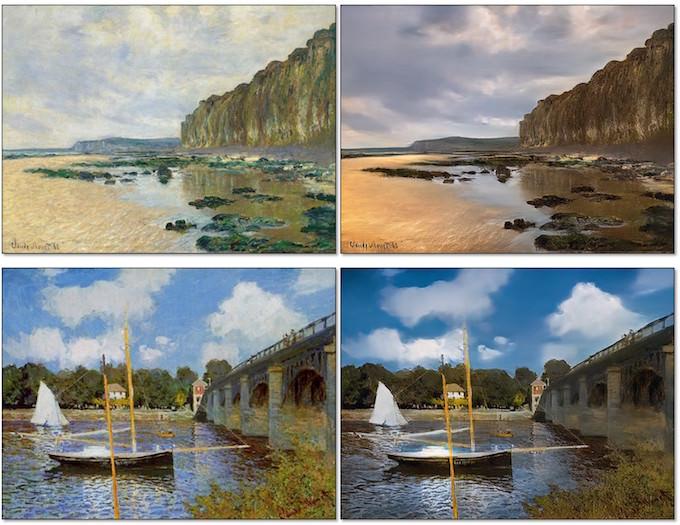 come trasformare dipinti in foto intelligenza artificiale