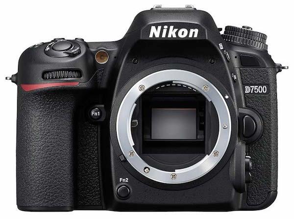 corpo Nikon D7500