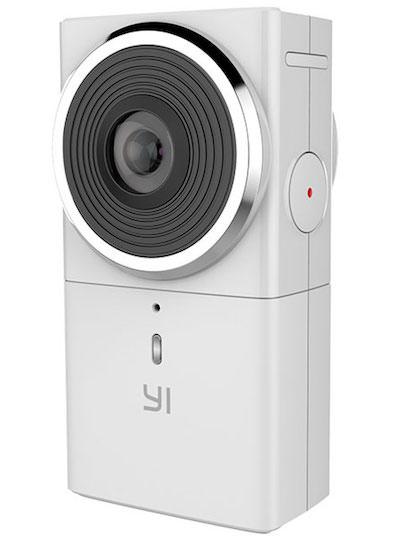 Nuova fotocamera yi 360 vr a 5 7k e live streaming for Microfono esterno yi 4k