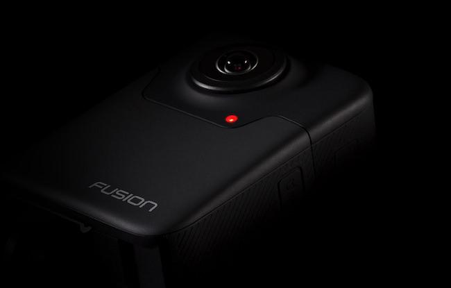 fotocamera gopro fusion 360 gradi