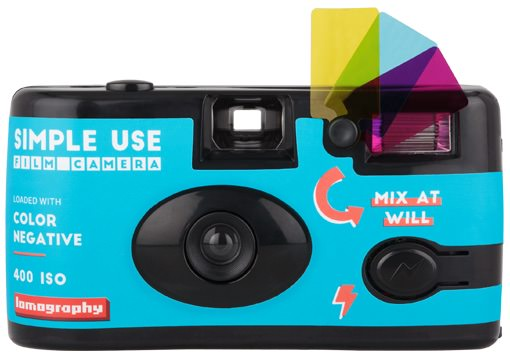 fotocamera usa e getta simple use film camera
