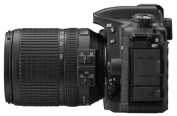 kit fotocamera Nikon D7500