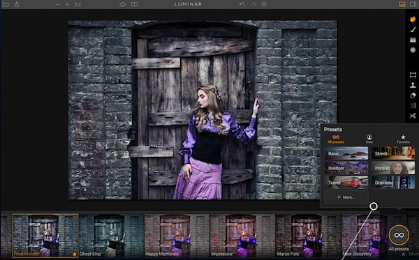 luminar premio TIPA 2017 miglior imaging software