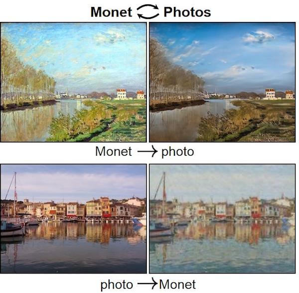 trasformare un monet in fotografia