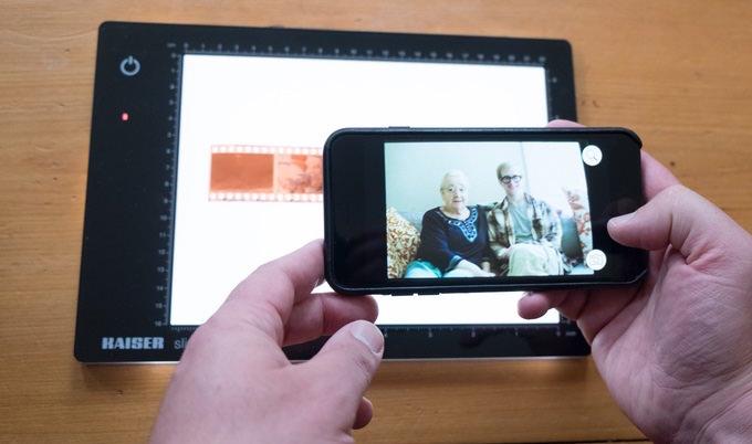 app filmlab trasforma negativi in fotografie digitali