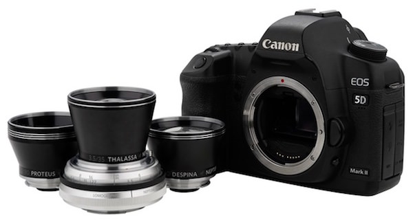 attacco canon nikon pentak ottiche Lomography Neptune Convertible Art Lens System