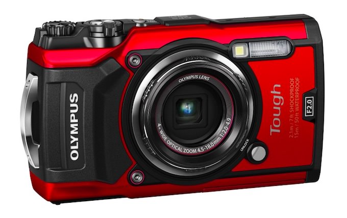 caratteristiche fotocamera olympus TG-5