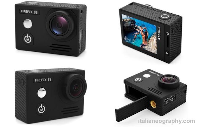 caratteristiche prezzi firefly 8S action cam