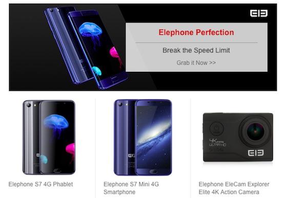 gearbest flash sale maggio 2017 elephone