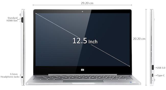 laptop xiaomi air 12