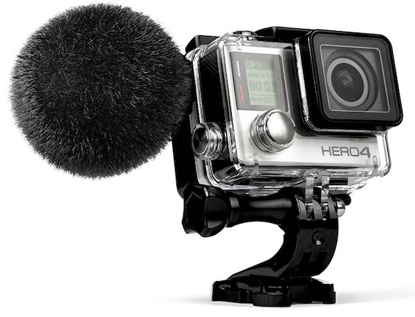 microfono sennheiser mke 2 elements gopro hero 4