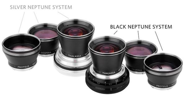 modelli obiettivi Lomography Neptune Convertible Art Lens System