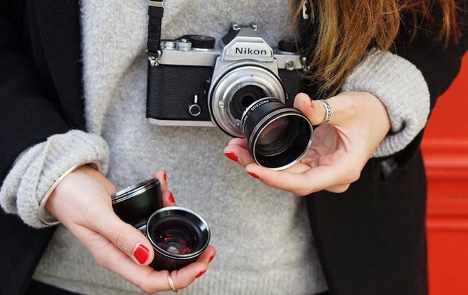 obiettivi fotocamera Lomography Neptune Convertible Art Lens System