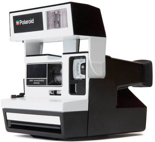 polaroid 600 bianco e nero