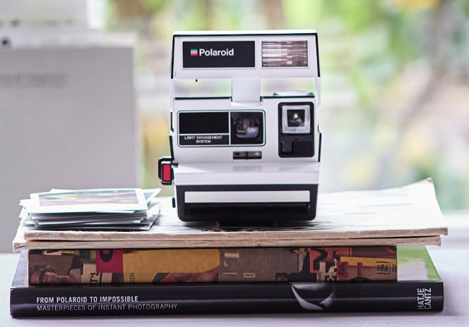 polaroid 600 two tone black & white edizione limitata