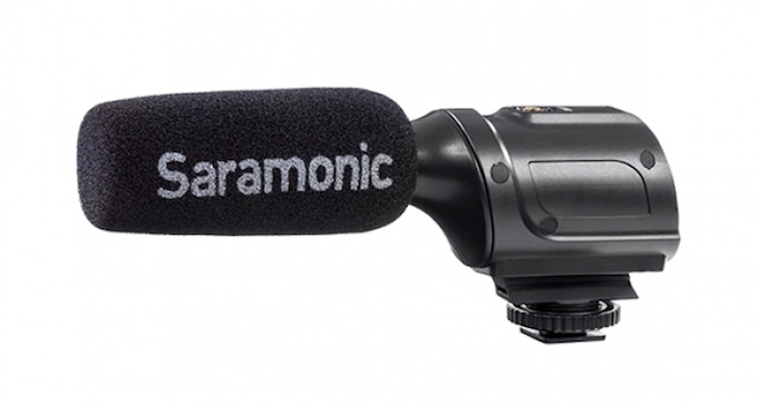 serie microfoni saramonic pmic per reflex