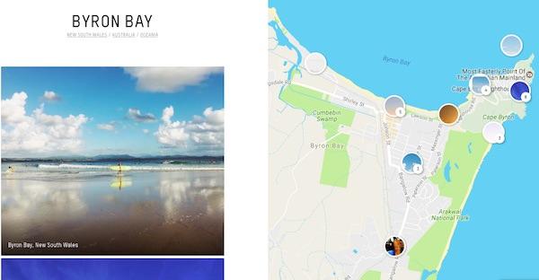 app sherpa iphone trasforma instagram guida turistica