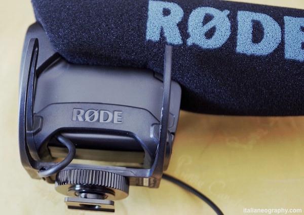 attacco e sospensioni rycote rode videomic pro rycote lyre