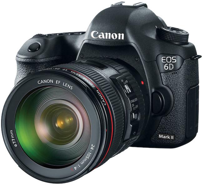 caratteristiche canon 6d mark II