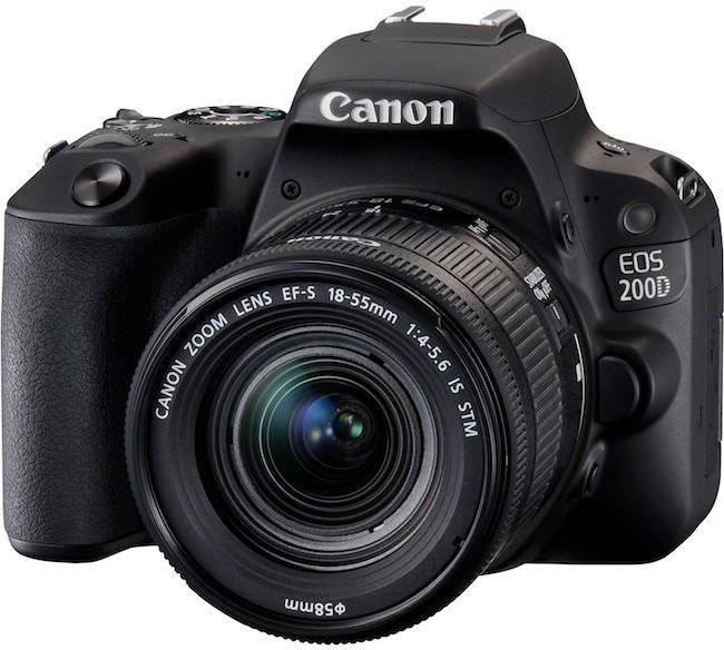 caratteristiche canon eos 200D