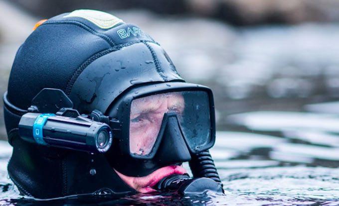 Action Camera Subacquea : Paralenz action cam subacquea con correzione colore automatica