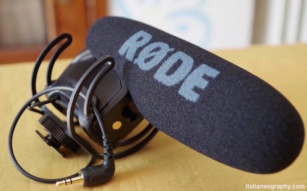 caratteristiche rode videomic pro rycote lyre