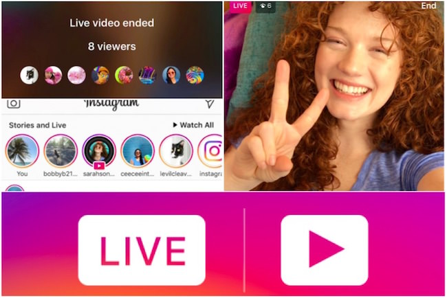 come ripubblicare live streaming instagram sulle stories