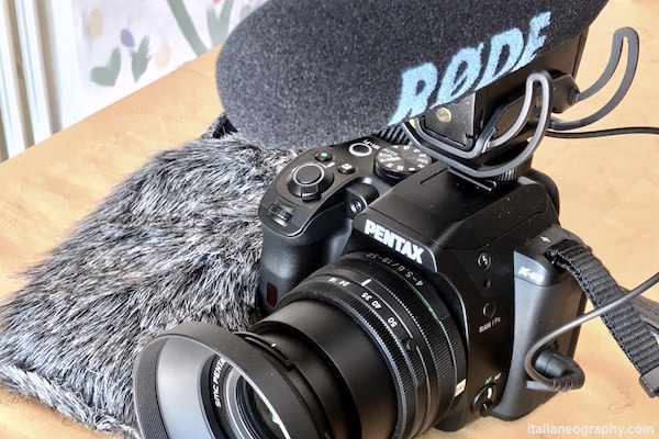 microfono rode videomic pro rycote lyre su reflex