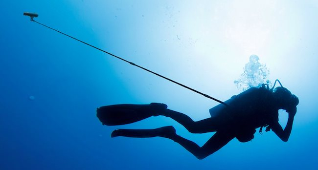 paralenz estensione autoripresa subacquea