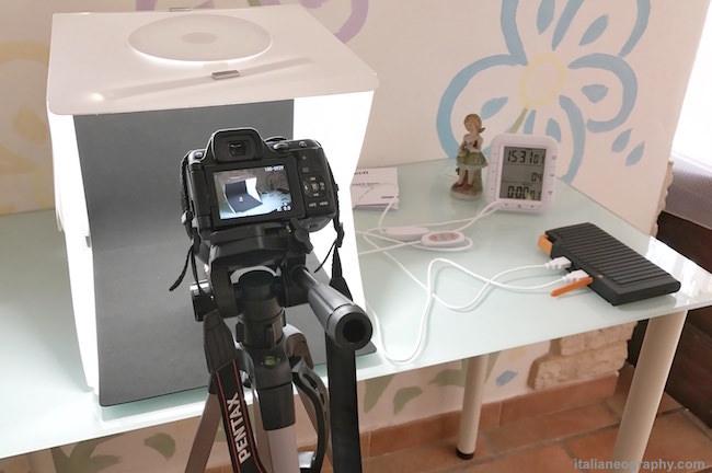 recensione lightbox zecti studio fotografico portatile