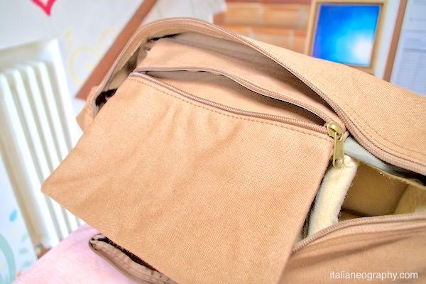 borsetta interna tracolla fotografica caden f1