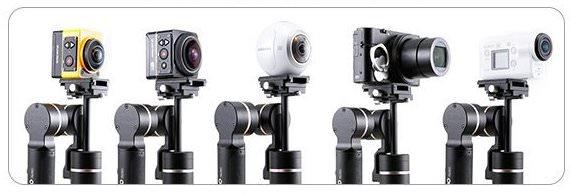 fotocamere da usare con feiyutech g360